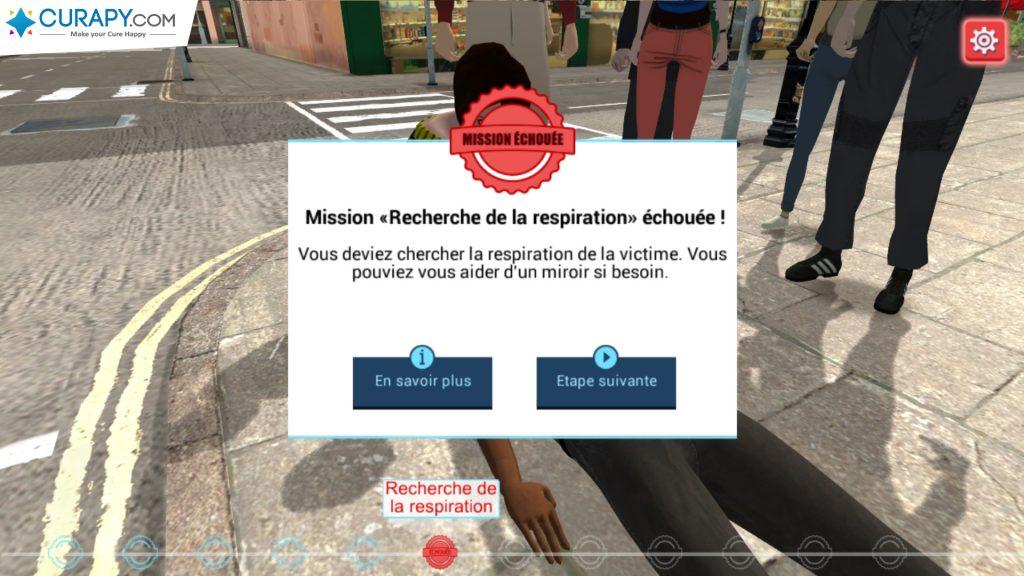 Image du serious game CiNACity développé par Curapy